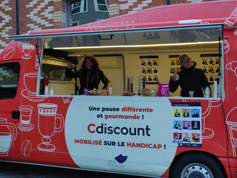 Covering foodtruck Cdiscount