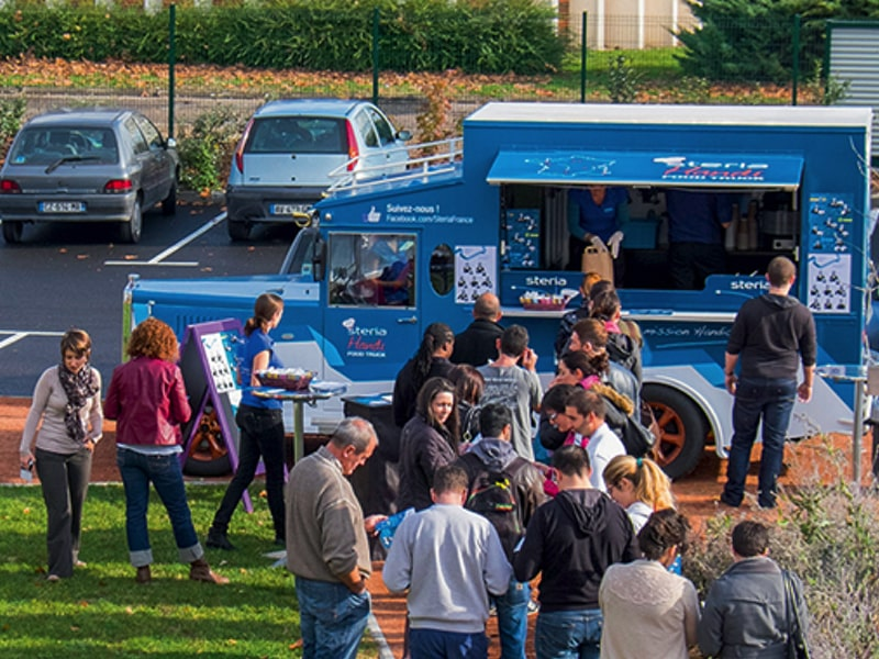 Covering foodtruck Sopra